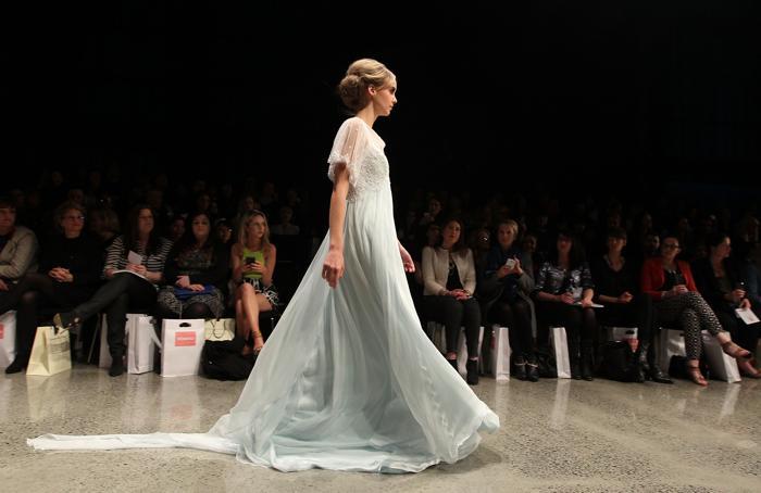 Демонстрация свадебных коллекции ведущих новозеландских брендов прошла на Неделе моды в Окленде 3 сентября 2013 года. Фото: Fiona Goodall/Getty Images