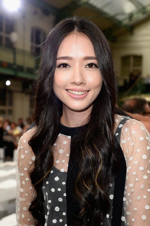 Корейская актриса и певица Хан Чжи Хе. Модные причёски и укладки продемонстрировали знаменитости на самых ярких мероприятиях сентября 2013 года. Фото: Pascal Le Segretain/Getty Images