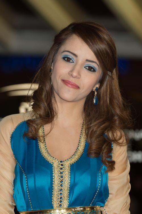 Актриса Чейми Бен Ача (Chaimae Ben Acha) продемонстрировала модную причёску на кинофестивале в Марракеше 4 декабря 2013 года. Фото: Dominique Charriau/Getty Images