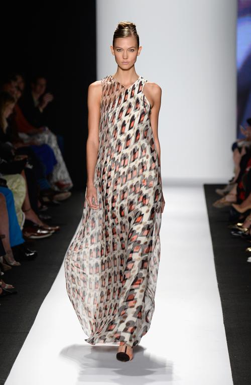 Модный американский дизайнер Каролина Эррера представила новую коллекцию Carolina Herrera весна 2014 на нью-йоркской неделе моды 9 сентября 2013 года. Фото: Frazer Harrison/Getty Images for Mercedes-Benz Fashion Week Spring 2014