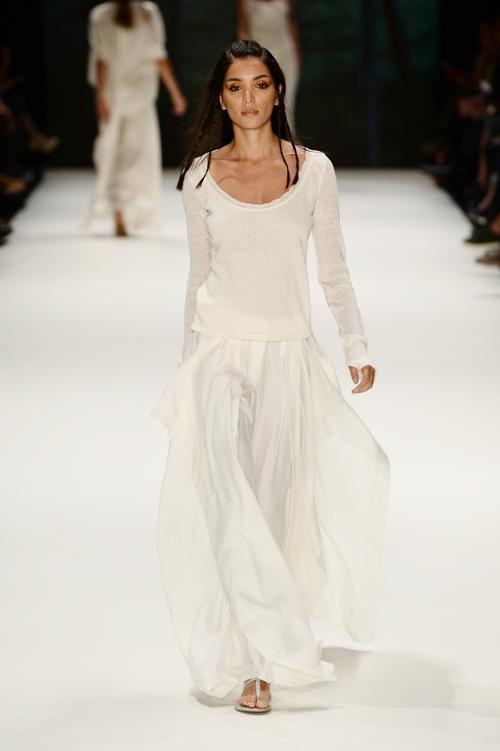 Турецкий бренд Nej представил новую коллекцию лето-осень 2014 на Неделе моды в Стамбуле 10 октября 2013 года. Фото: Ian Gavan/Getty Images for IMG