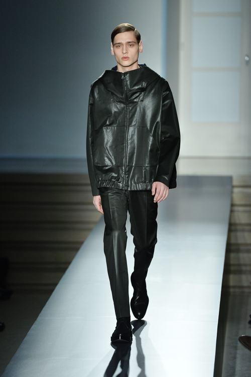 Признанный бренд мужской одежды Jil Sander представил коллекцию осень-зима 2014 на миланской Неделе моды 11 января. Фото: Tullio M. Puglia/Getty Images