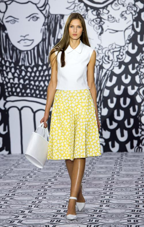 Один из ведущих представителей британской моды Джаспер Конран представил новую коллекцию Jasper Conran S/S2014 на лондонской Неделе моды 14 сентября 2013 года. Фото: Samir Hussein/Getty Images