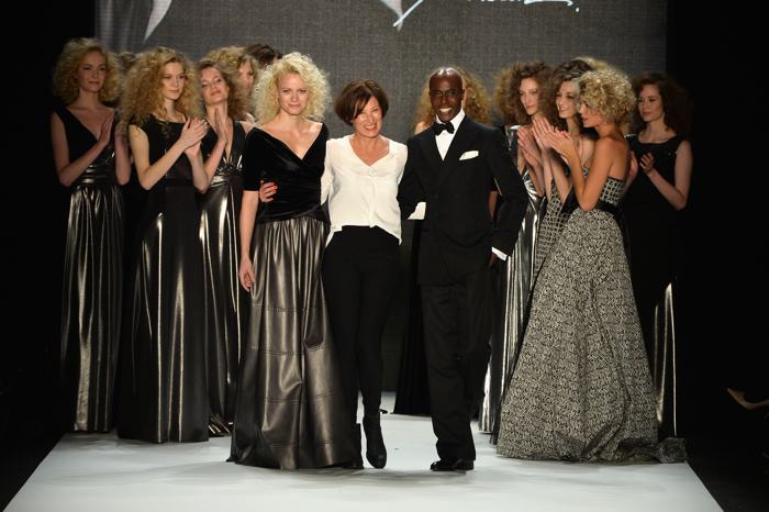 Ева Лутц провела модное шоу Minx by Eva Lutz осень-зима 2014/2015 на Неделе моды в Берлине 15 января 2014 года.Фото: Frazer Harrison / Getty Images для Mercedes Benz