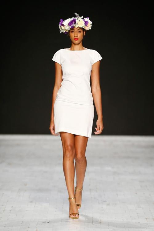Показ известного швейцарского бренда «Азиза Зина» (Aziza Zina) прошёл 16 ноября 2013 года в рамках Недели моды в Цюрихе. Фото: Andreas Rentz/Getty Images