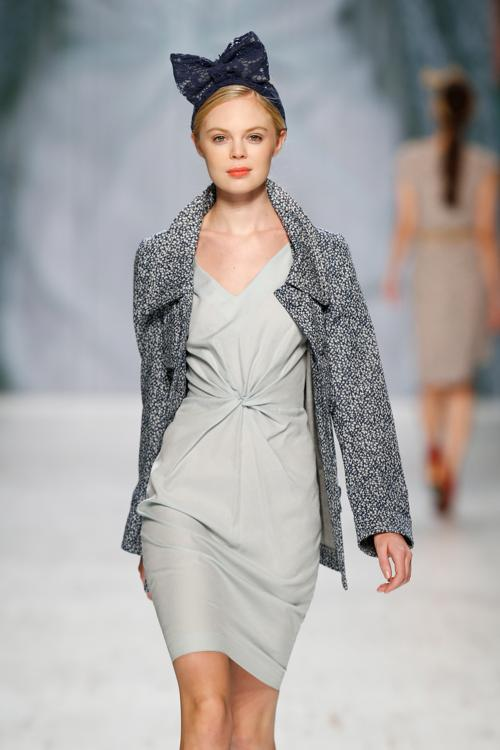 Швейцарская марка одежды Van Bery представила коллекцию 2014 в заключительный день Недели моды в Цюрихе 16 ноября 2013 года. Фото: Andreas Rentz/Getty Images