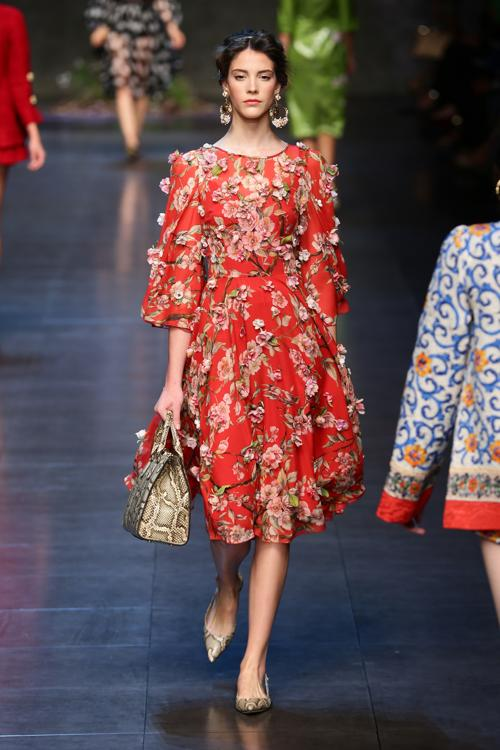 Всемирно известный дом моды Италии Dolce & Gabbana 22 сентября 2013 года продемонстрировал новую коллекцию весна-лето 2014 на Неделе моды в Милане. Фото: Vittorio Zunino Celotto/Getty Images
