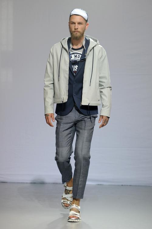 Показ коллекции эффектной итальянской одежды Frankie Morello прошёл в Милане. Фото: Stefania DAlessandro/Getty Images