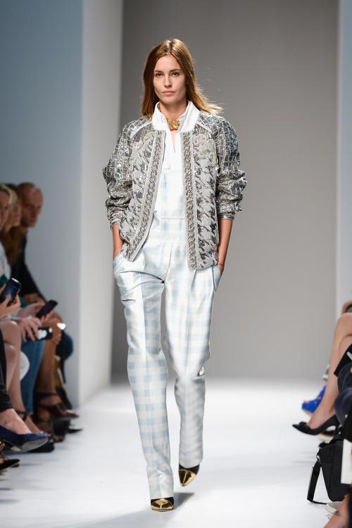 Французский модный бренд Balmain представил 26 сентября 2013 года новую коллекцию 2014 года сезона весна-лето на Неделе моды в Париже. Фото: Pascal Le Segretain/Getty Images
