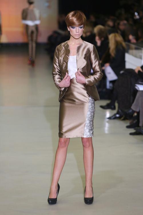 Итальянская Неделя моды AltaRoma весна-лето 2014 открылась в Риме показом коллекции Sabrina Persechino 27 января. Фото: Ernesto Ruscio/Getty Images