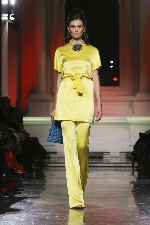 Линию одежды весна-лето 2014 представило известное итальянское ателье Giada Curti. на Неделе моды в Риме 27 января. Фото: Ernesto Ruscio/Getty Images