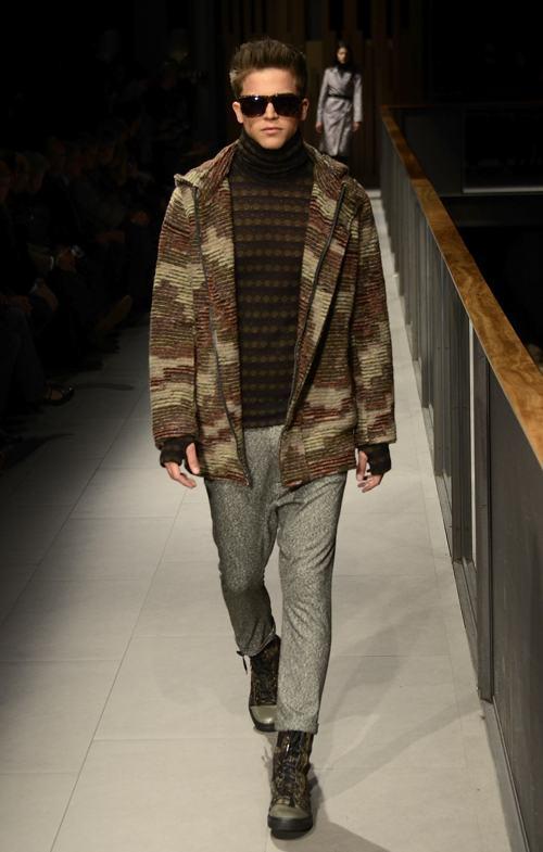 Известные испанские манекенщики продемонстрировали коллекцию одежды Custo Barcelona осень-зима 2014/2015 на третий день барселонской Недели моды. Фото: Robert Marquardt/Getty Images