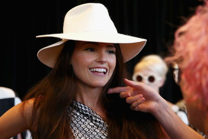 Подготовка к показу новой летней коллекции David Jones в Сиднее 30 июля 2013 года. Фото: Caroline McCredie/Getty Images for David Jones