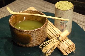 Матча – напиток из порошка зеленого чая. Фото: Наталья ЭНРИОН/Великая Эпоха (The Epoch Times)