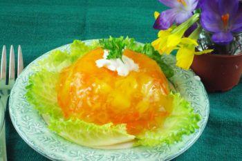 Завершим весенний обед желатиновым салатом из моркови и ананаса. Фото: Сандра Шилдс/Великая Эпоха