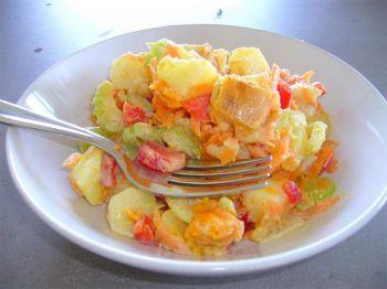 Зимние овощи: красочный салат в любое время года. Фото: Кэтрин Шекспир /Великая Эпоха