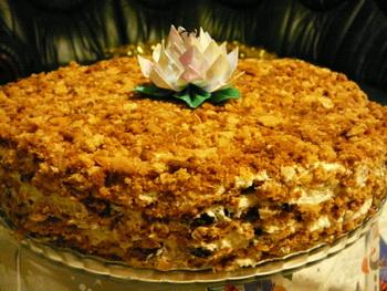 Медовый торт. Фото: Лариса Чугунова/Великая Эпоха/The Epoch Times, Латвия