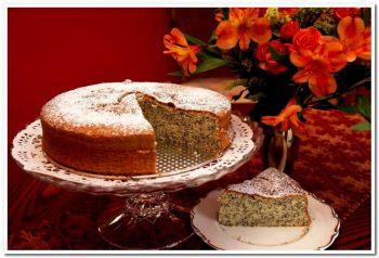Венский торт с маком Gugelhupf. Фото: Sandra Shields. The Epoch Times