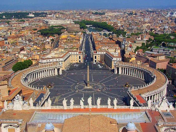 Ватикан с высоты птичьего полёта. Фото с сайта flickr.com