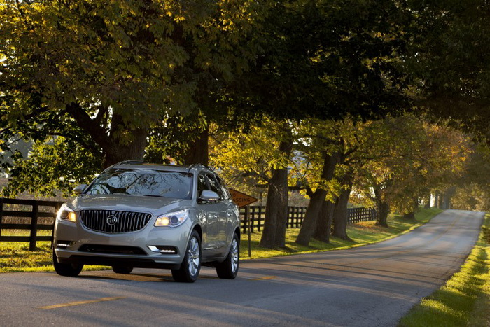 Buick Enclave 2013. Фото: GMC/Buick
