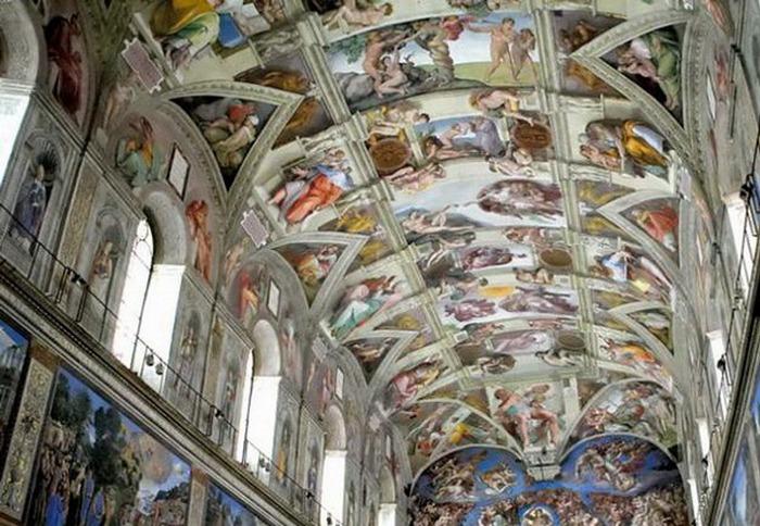 Сикстинская капелла, Ватикан. Фото с сайта ba-bamail