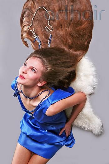 Итальянское наращивание волос. Фото с сайта arthair.ru
