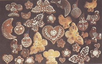 Разные формы печенья. Фото: из книги «Кулинарные секреты» Лидии Ляховской