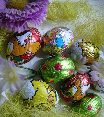 Шоколадные яйца. Фото: Лариса Чугунова. Великая Эпоха.