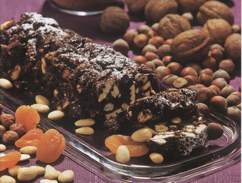 Шоколадная колбаска. Фото из архива Zvaigzne ABC