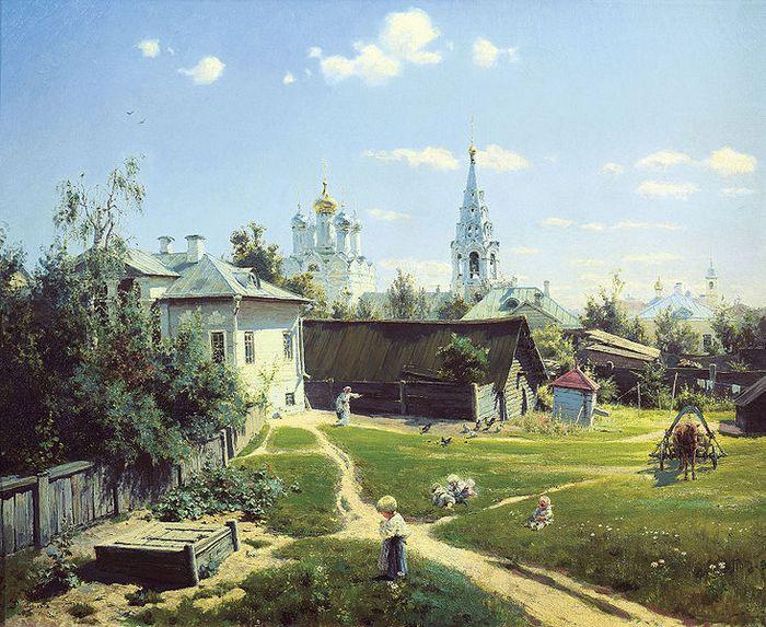 Произведение русского художника Поленова