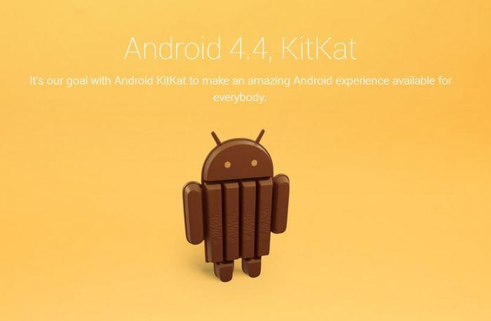 Шоколадный Android из батончиков KitKat. Фото: theverge.com