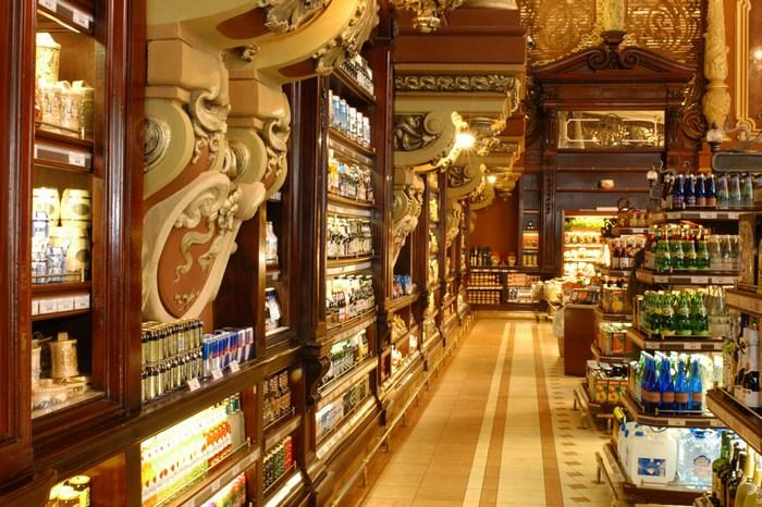 Елисеевский магазин. Фото с сайта eliseevskiy.ru
