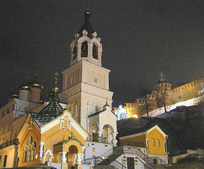 Церковь Рождества Иоанна Предтечи в Нижнем Новгороде. Фото с сайта wikipedia.org