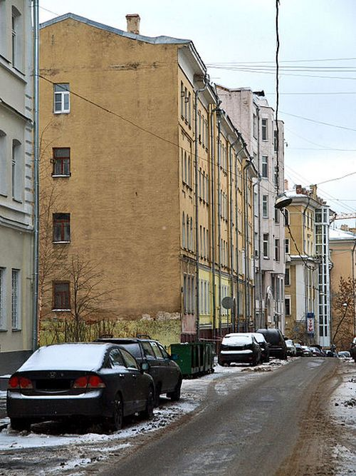 Колокольников переулок. Фото: NVO/wikimedia.org