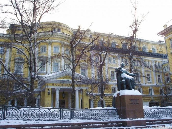 Московская консерватория. Фото: NVO/wikimedia.org