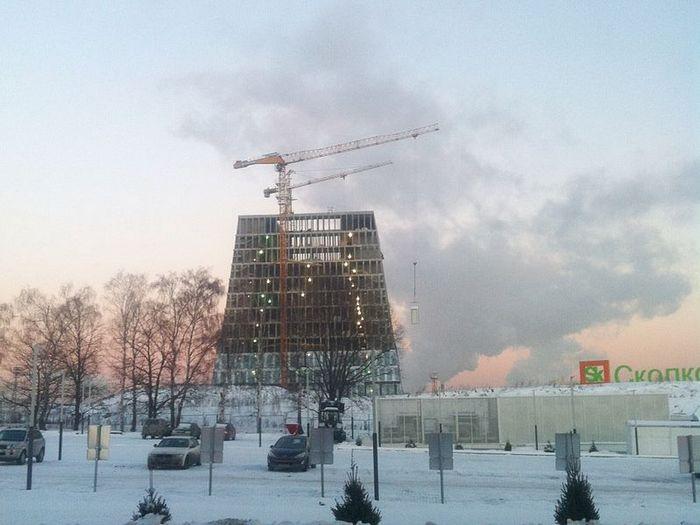 Развивающийся проект «Сколково». Фото:  Виталий Барсов
