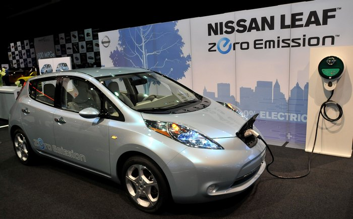 Nissan Leaf. Фото: Bryan Mitchell/Getty Images