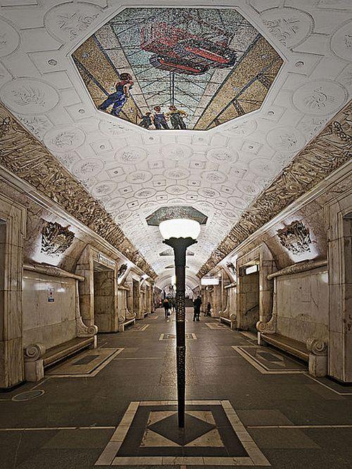 Станция метро Новокузнецкая. Фото: Andrey Kryuchenko/wikimedia.org