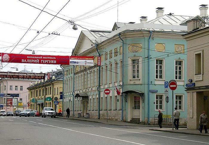 Общий вид улицы Сретенки. Фото: NVO/wikimedia.org