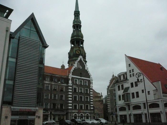 Красивый Старый город Риги. Фото: Юлия Эскудеро.