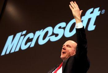Теперь уже бывший генеральный директор Microsoft Стив Баллмер. Фото: wikinoticia.com