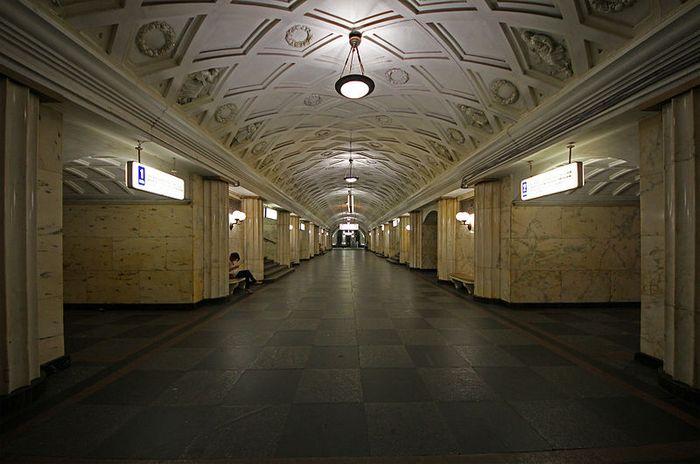 Станция  метро Театральная. Фото: A.Savin/ wikimedia.org