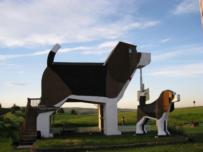 Dog Bark Park Inn. Фото с сайта  forum.inosmi.ru