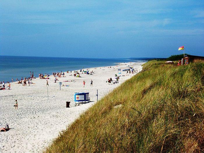 Балтийское побережье, пляж Пярвалка, Неринга, Литва. Фото: Vilensija/commons.wikimedia.org