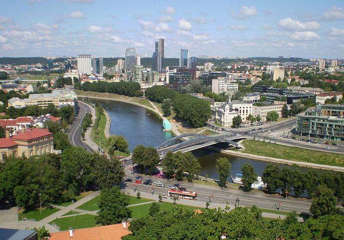 Река Вилия (Нярис), Литва. Фото: Kulmalukko/commons.wikimedia.org