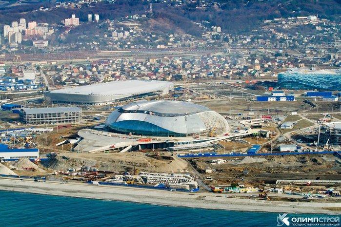 Олимпийский Сочи. Фото с сайта www.sportprimorye.ru