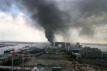 Взрыв на АЭС «Фукусима» в Японии прозвучал в прямом эфире. Фото: Sankei via Getty Images