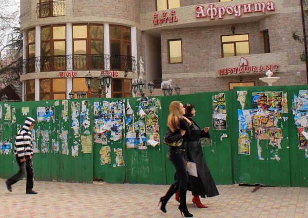 Две Афродиты и Hotel. Фото: Ирина Рудская/Великая Эпоха (The Epoch Times)
