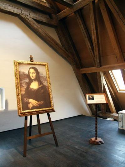 Итальянское консульство представляет репродукцию картины «Мона Лиза» в реальном размере и высочайшего качества. Фото: Богдан Флореску/Великая Эпоха (The Epoch Times)