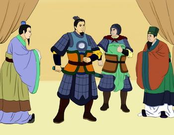 Юэ И - образцовый пример генерала. Иллюстрация: Чжичин Чэнь/Великая Эпоха (The Epoch Times)
